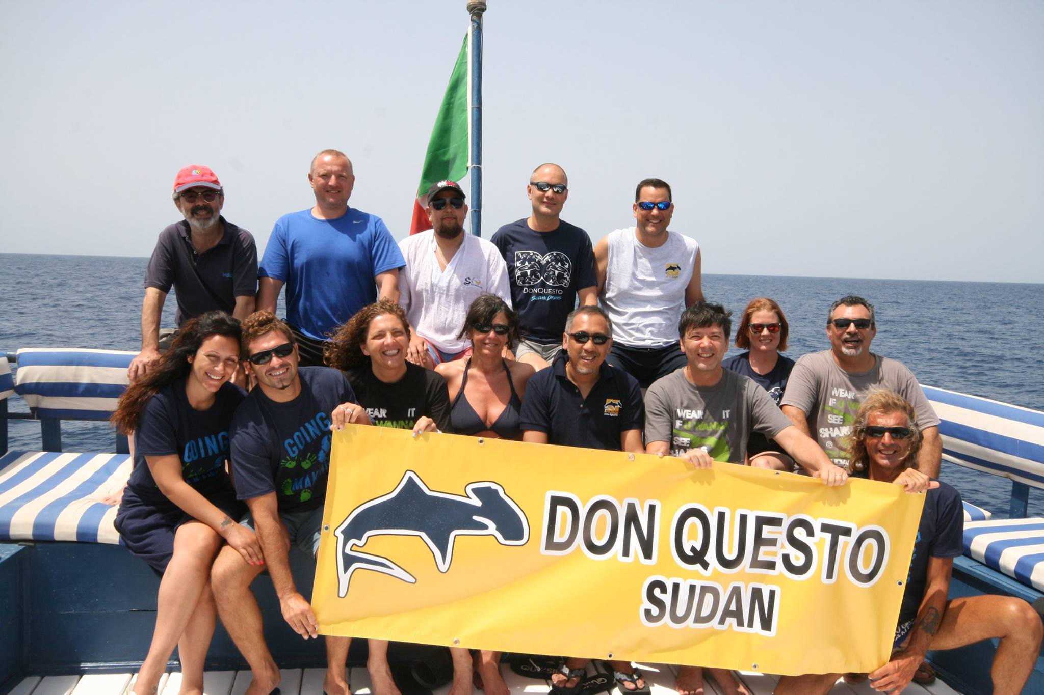 2015 Deep South Cruise Group on Don Questo
