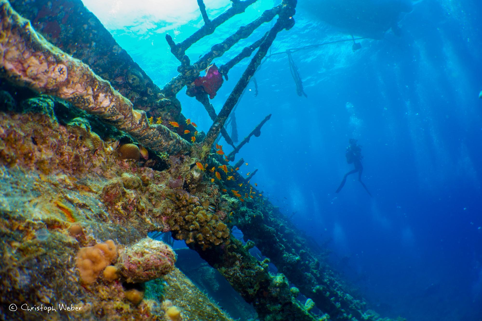 Umbria wreck structures
