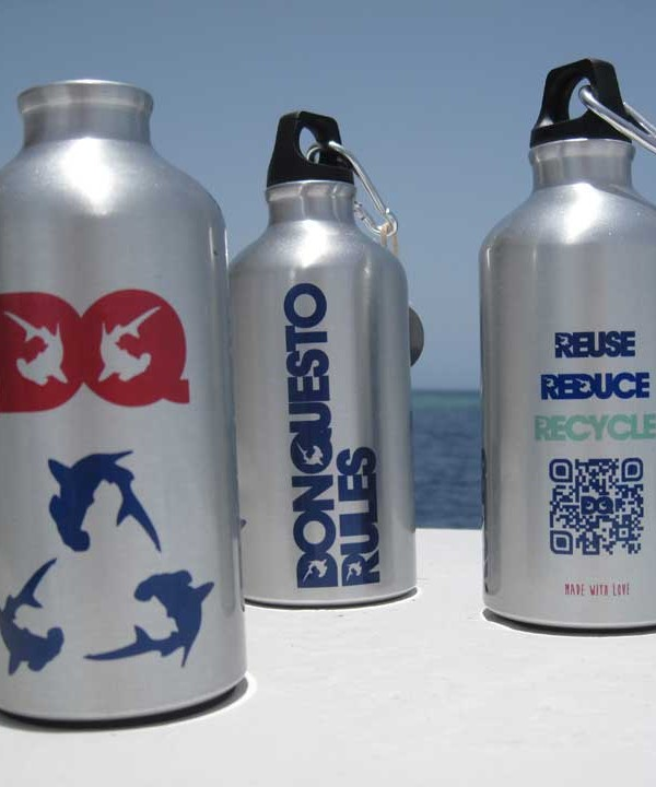 Reuse Reduce Recycle bottle